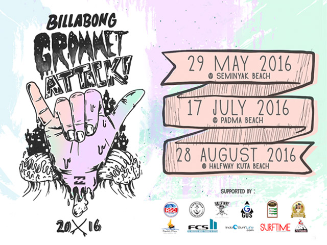 Billabong Gromet Attack 2016