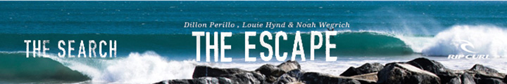 Rip Curl - The Search The Escape - 720x120