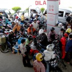 Bali Police Prepared for Fuel Hikes