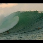 Video: Steph Gilmore & Jay Thompson Surf the Indonesian Tropical Lefts of Macaronis