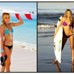 Video: Erica Hosseini and Alana Blanchard Ripping in Skimpy Bikinis