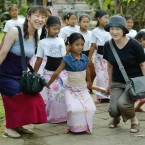 Japanese tourists return to Bali