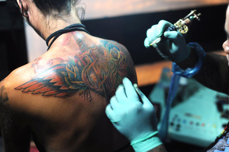 Health office pushes for regulation of bali s tattoo for Association of professional tattoo artists