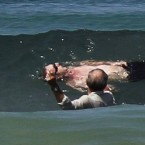 Photos: Survivor of a shark attack in Cape Town