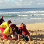 Surfer revived after big Pipeline wipe-out
