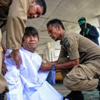 Indonesian Youths Caned for Pre-Marital Sex