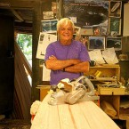 2012 Surfing Walk Of Fame Inductee Dick Brewer. Photo: Neste