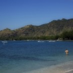 Charming beach: Tourists enjoy the charm of Pemuteran Beach in north Bali. An increasing number of European visitors are choosing to holiday there to avoid the crowded beaches in southern Bali. BD/I Wayan Juniarta
