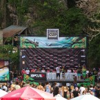 World's Best Tuberiders Draw Their Heats at Rip Curl Cup Opening Ceremony