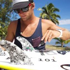 Josh Kerr signs on with new surfboard fin company