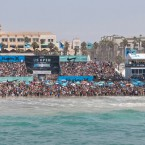 Look for new logo placement for the 2013 US Open of Surfing. Photo: Checkwood.