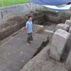 Ancient Temple Unearthed By Construction Crew in Bali
