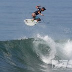 Jack Freestone (AUS) flies into the Quarterfinals of the Oakley ASP World Junior Championships. Pic: ASP/Hain