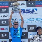 Jack Freestone (AUS), two time winner of the Oakley World Pro Junior Bali, and two-time ASP World Junior Champion. Pic ASP/Robertson.