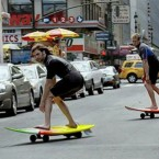 Video: Surfing the New York City streets