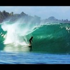Video: Rob Machado Pulls Into Crystal Clear Indonesian Barrels