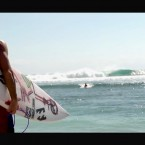 Video: Kalani Chapman tucks into 10 second Indo barrels