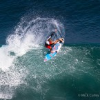 Owen Wright in action at Uluwatu. Photo: Mick Curley.