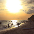 Pandawa Beach at Kutuh Village. A hidden beach at southern part of Bali.