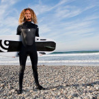 Video: Rob Machado cruising on a surfboard that's also a snowboard