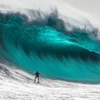 8. Marti Paradisis and his $20,000 wave. Picture: Andrew Chisholm