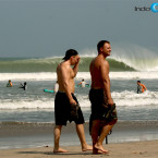 The waves have been a major part of Bali&#039;s cachet as a top notch tourist and surfing destination. Pic: Sakti Alam/IndoSurfLife.com.