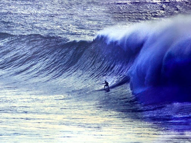 Respected surfer Rick Proczka, circa 1987. Photo: Woody Woodworth