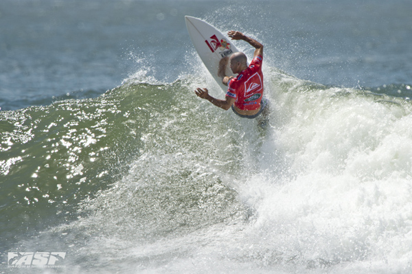 Kelly Slater (USA), 41, 11-time ASP World Champion and last season's ASP World Runner-Up, was back with a vengeance today, posting a Round 1 win at the Quiksilver Pro Gold Coast.