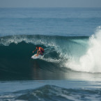Video: Local surfer made history at ASP WCT