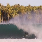 Video: Leonardo Fioravanti like big green barrels in Indo
