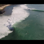 Video: Padang-Padang From Above