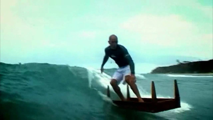 Video: Crazy Surfing with Kelly Slater and Friends