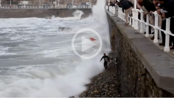 Video: When High Tide Exits Go Wrong