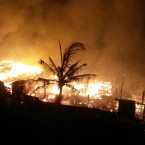 6 Balangan Beach Cafe Burned Down Last Night