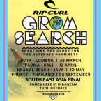 Rip Curl GromSearch Returns to South East Asia's Best Locations for 2015 Series.