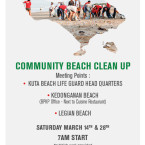 An Invitation for Beach Clean Up This Weekend