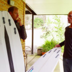 Video: Kelly Slater Opens His Board Bag