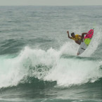 Andre Anwar Heats Things Up at The Rip Curl Gromsearch #3 at Krakal Beach