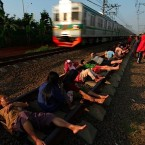 Indonesian Railway Track Therapy