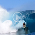 Video: Jamie O' Brien Launches Drone From Teahupoo Barrel