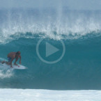 Video: Hollow Lefts at Desert Point