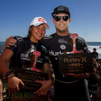 Carissa Moore and Mick Fanning Reign Supreme at Lower Trestles