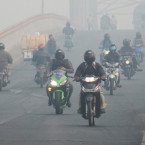 58,000 Hectares Ablaze in Sumatra as Haze Spreads West