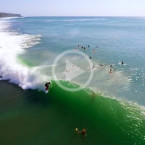 Video: Bingin Perfection From The Air