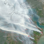 How Indonesia's Gigantic Fires Are Making Global Warming Worse