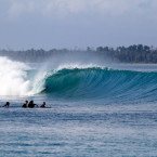 The Statement On Gunshot Over Macaronis, Mentawai
