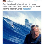 Search Ends for Big Wave Surfer Alec 'Ace Cool' Cooke