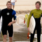 Video: Mick Fanning Makes A Dream Come True