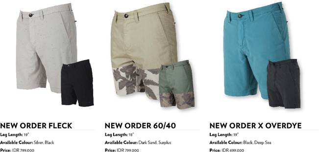Billabong Continue To Elevate It's Product Line With The Submersibles Walkshorts Range
