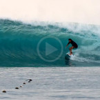 Video: Barreling Indo With Adam Bennetts